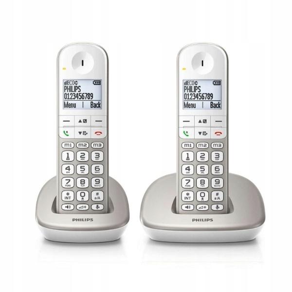 Купить Беспроводной телефон Philips XL4902S/22 1,9
