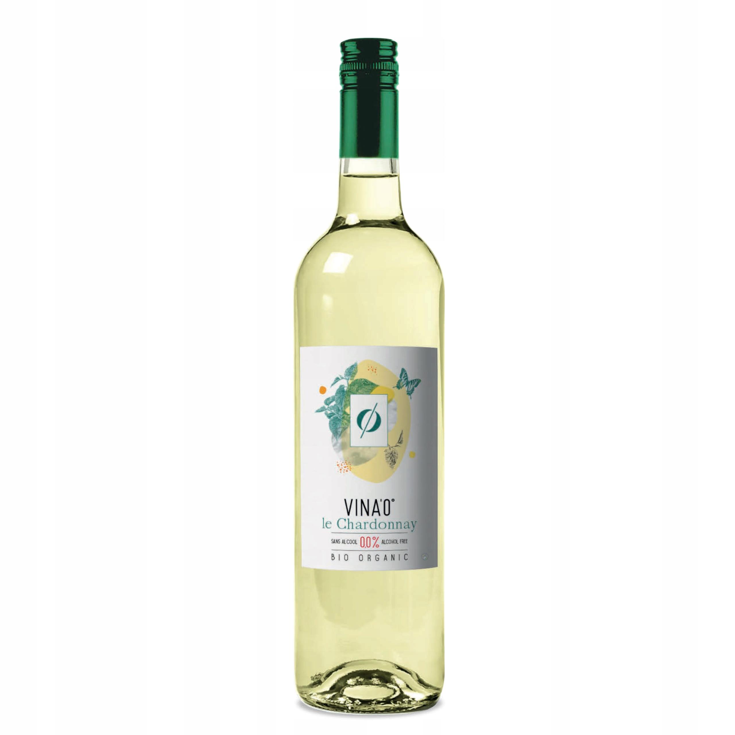 Безалкогольное вино VINA'0 ° Le Chardonnay BIO 0,0%
