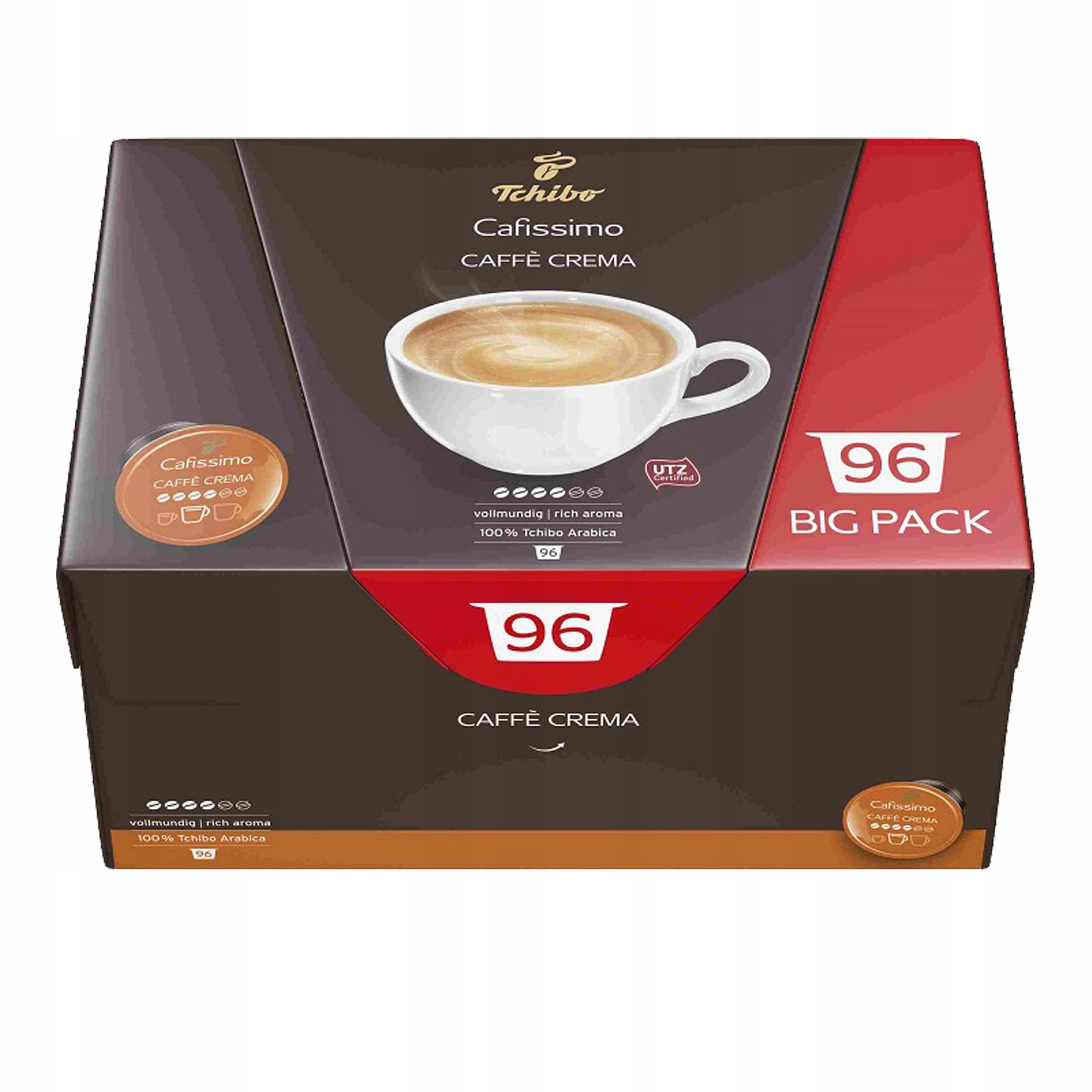 Tchibo Cafissimo Caffe Crema Vollmundig 96 kapsuł