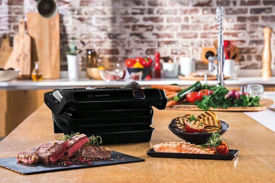 Grill elektryczny TEFAL Optigrill Elite GC750830 Rodzaj grilla tradycyjny panini