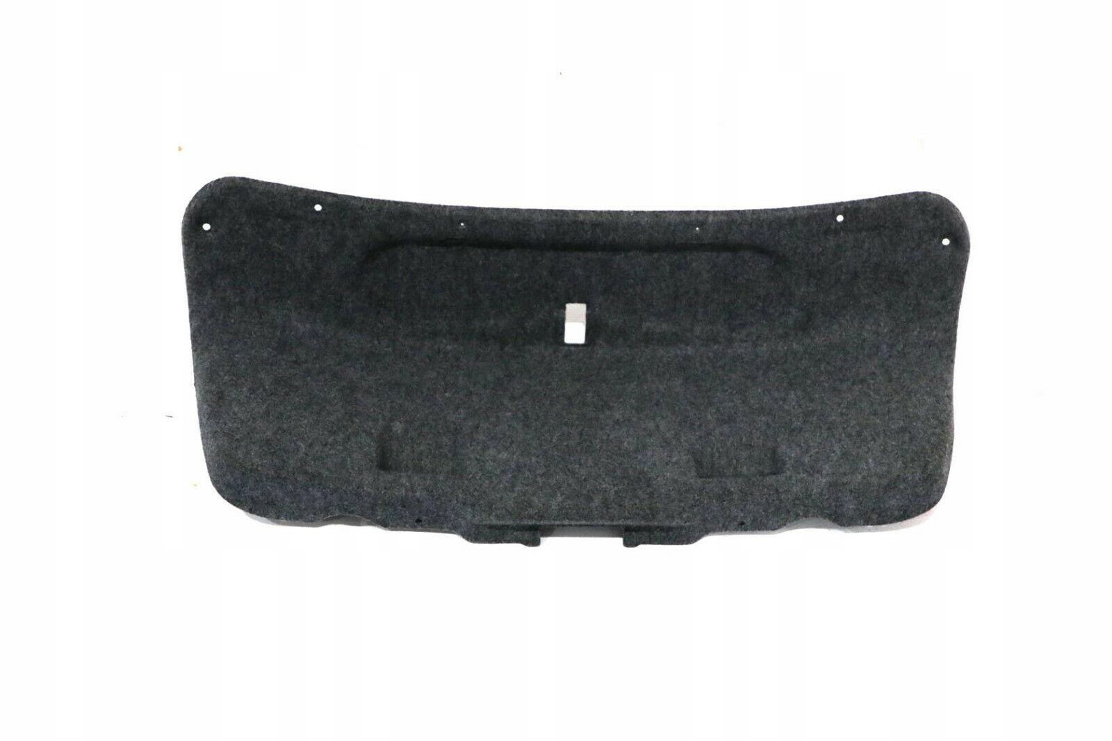 bmw e46 обивка багажник люка сзади