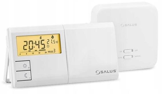 Sterownik do pieca SALUS 091FLRF V2 BEZPRZEWODOWY
