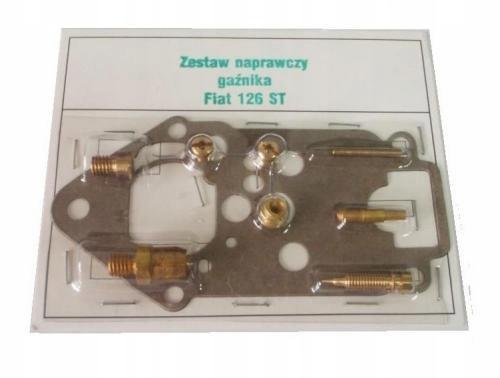 комплект ремонтный карбюратор fiat 126p малыш st kgy