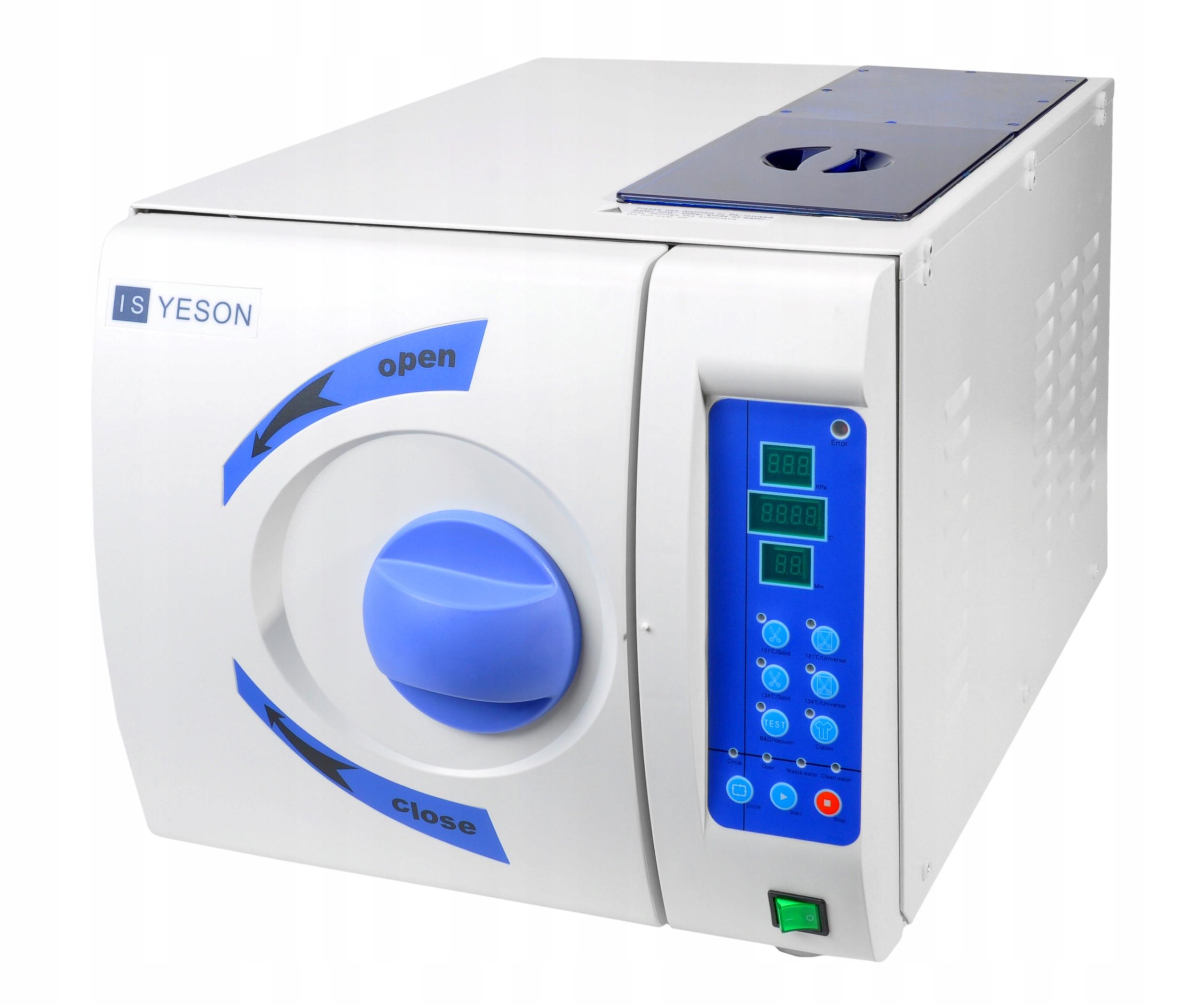Autoklaw YESON 3PV 22L kosmetyka stomatologia