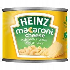 HEINZ MACARONI CHEESE MAC&CHEESE MAKARON 200g