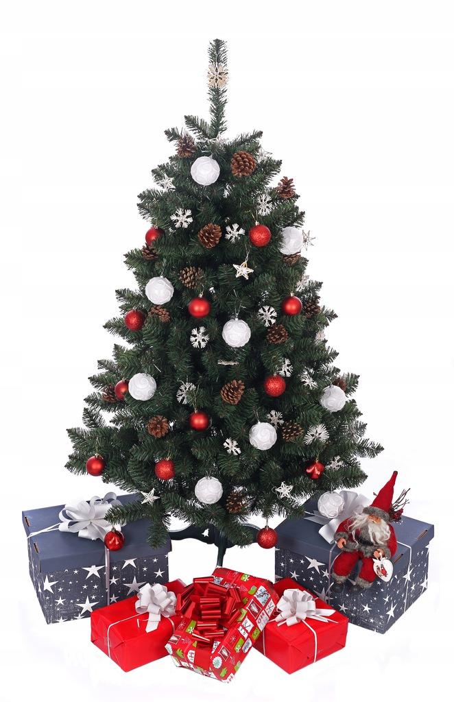 Umelý vianočný stromček KRÁSNA POLSKÁ ZELENÁ BOROVICA 100