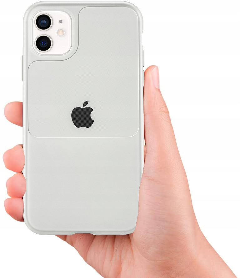 Etui do iPhone 12 Mini Case Silikon Guma + SZKŁO Dedykowany model iPhone 12 Mini