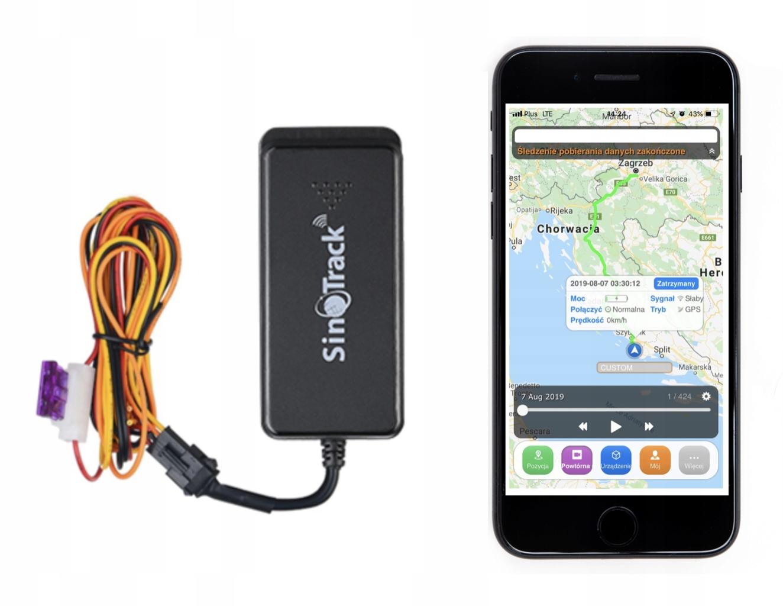 GPS-локатор - модель ST-901 A + Server и Apka