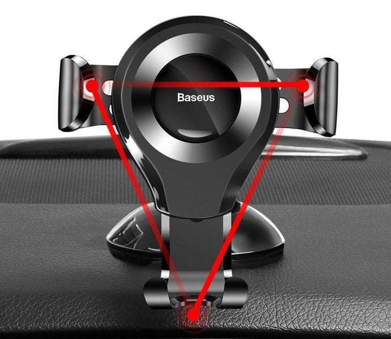 Uchwyt BASEUS Samochodowy Grawitacyjny Do Telefonu EAN 6953156268760