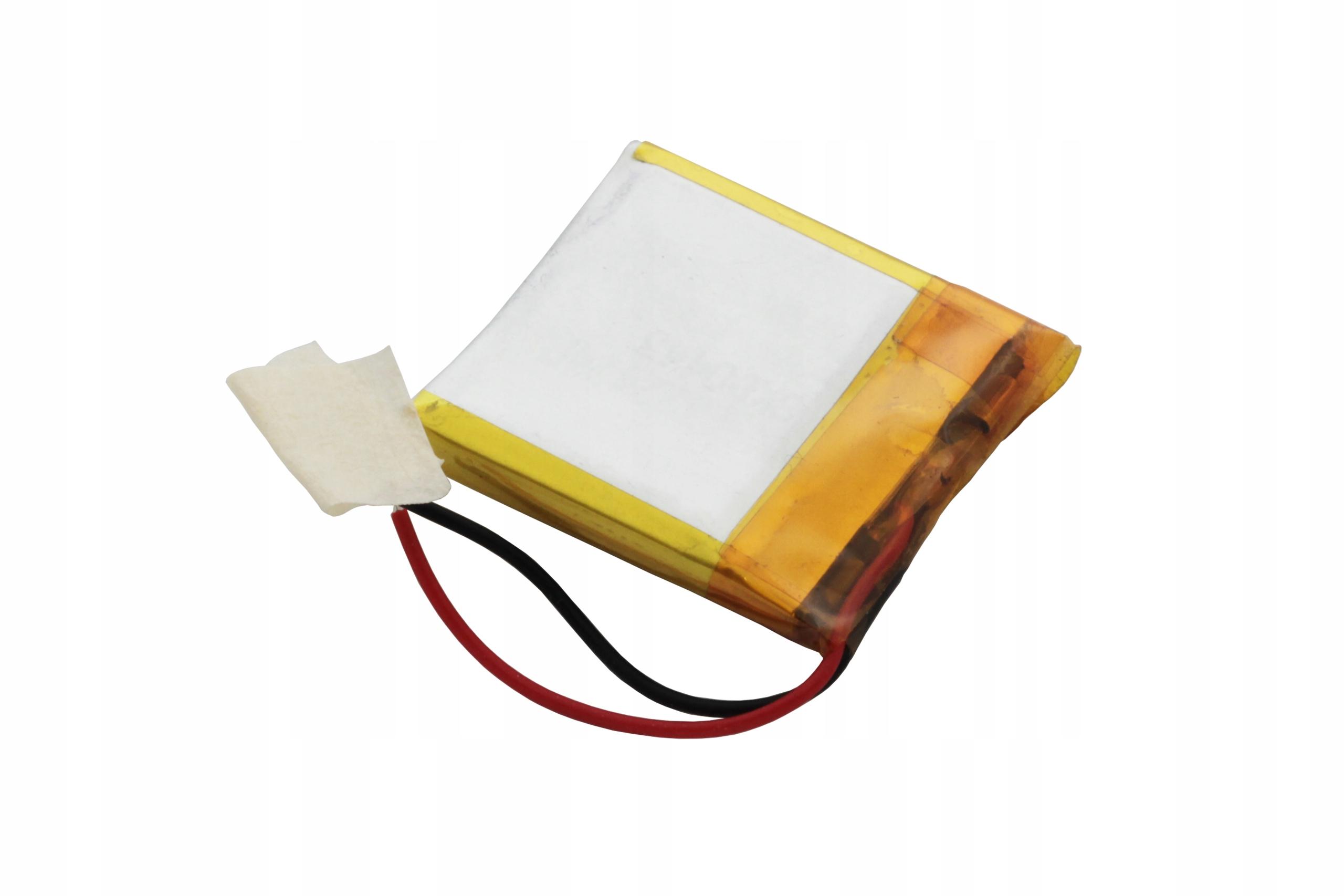 AKUMULATOR PRYZMATYCZNY Li-POLy 3,7V 120mAh 302323 Marka AmElectronics