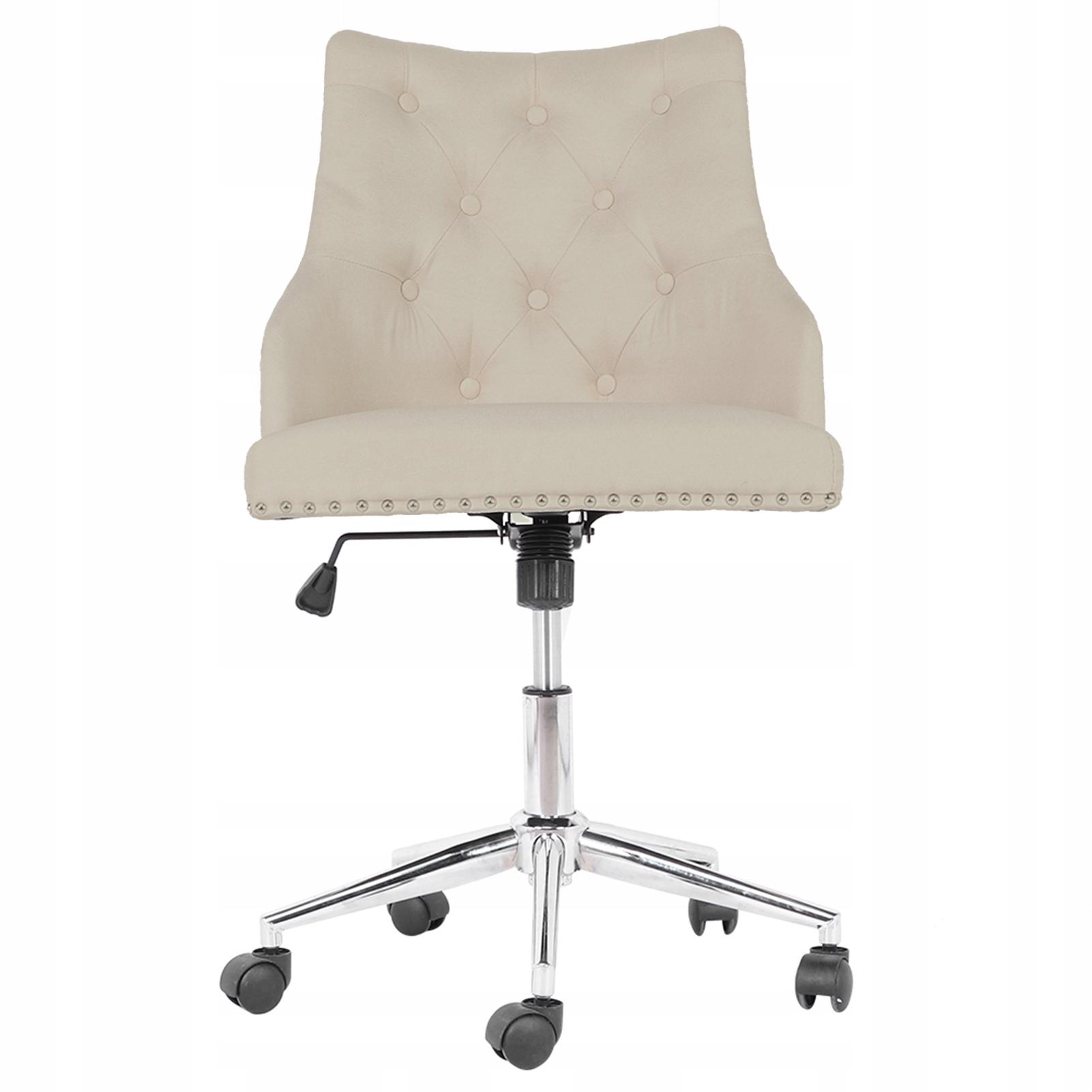štýlová stolička nastaviteľná s elegantným retro vzhľadom