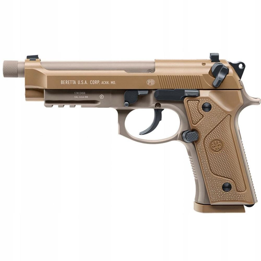 Пневматическая винтовка Beretta M9A3 FM FDE 4.5 мм CO2 пистолет