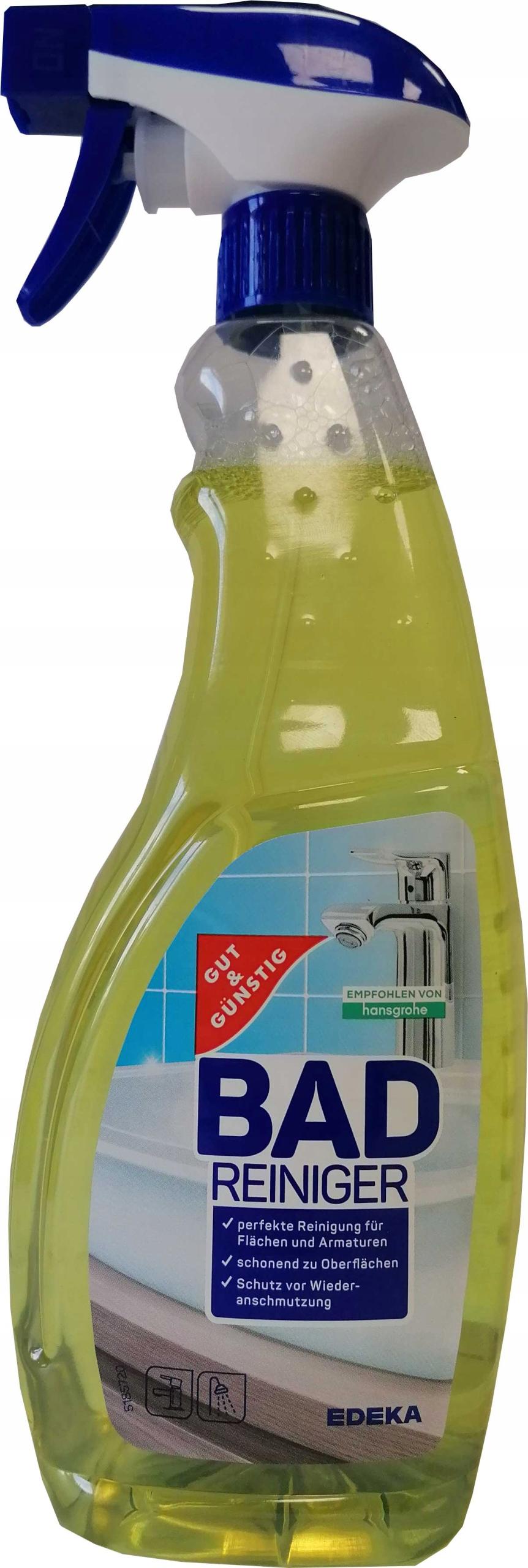 G G Bad Reiniger для чистки ванных комнат 1 л