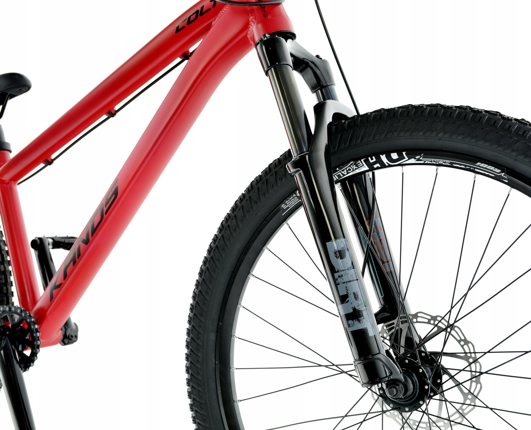 Rower Kands 26 DIRT COLT V2 13 CZERWONY R21 Kolor czerwony
