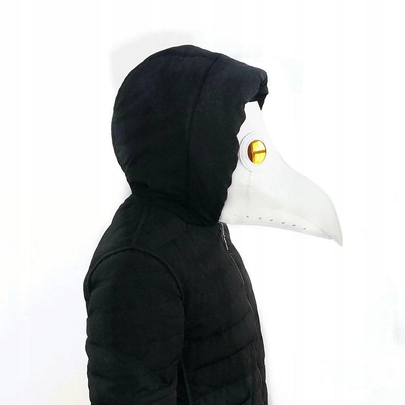 Morová doktorka Gotická retro rocková maska na Halloween