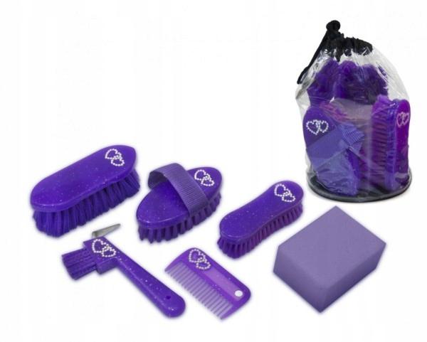 Набор для чистки сладких фиолетовых лошадей