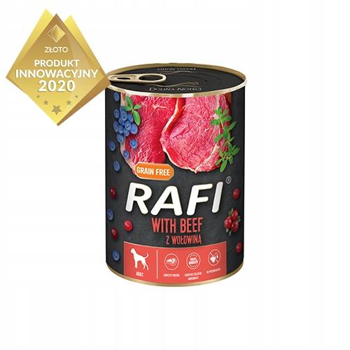 Rafi z Wołowiną Karma Mokra dla Psa 24x 400g Nazwa handlowa RAFI