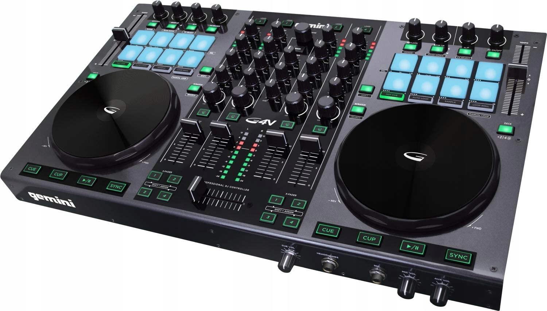 Item Console Controller Mixer 4-Channel DJ Gemini G4V