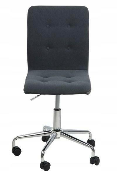 ACTONA stolička otočná FRIDA tmavo sivá tkanina