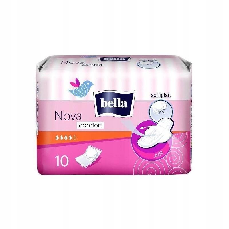 Bella nova comfort женские гигиенические прокладки 10 шт.