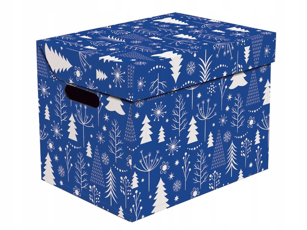 Новогодняя подарочная коробка Рождественская елка n