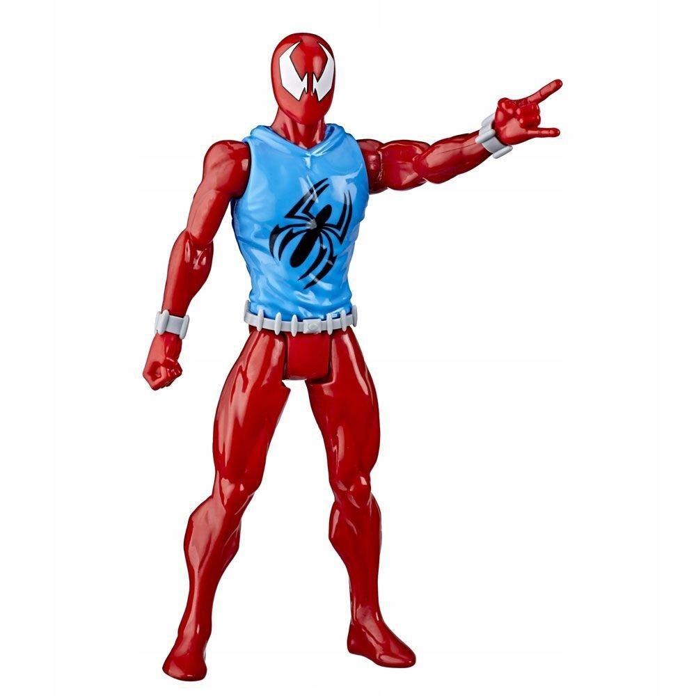 HASBRO SCARLET SPIDER SPIDERMAN RUCH. FIGURKA 30cm Bohater Spiderman