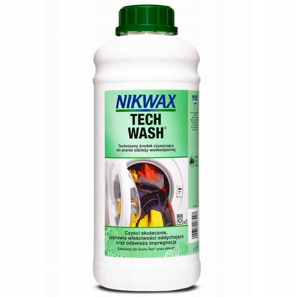 NIKWAX TECH WASH Средство для стирки курток 1л