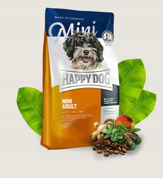 Šťastný pes Pes Najvyššieho Mini Dospelých 4 kg