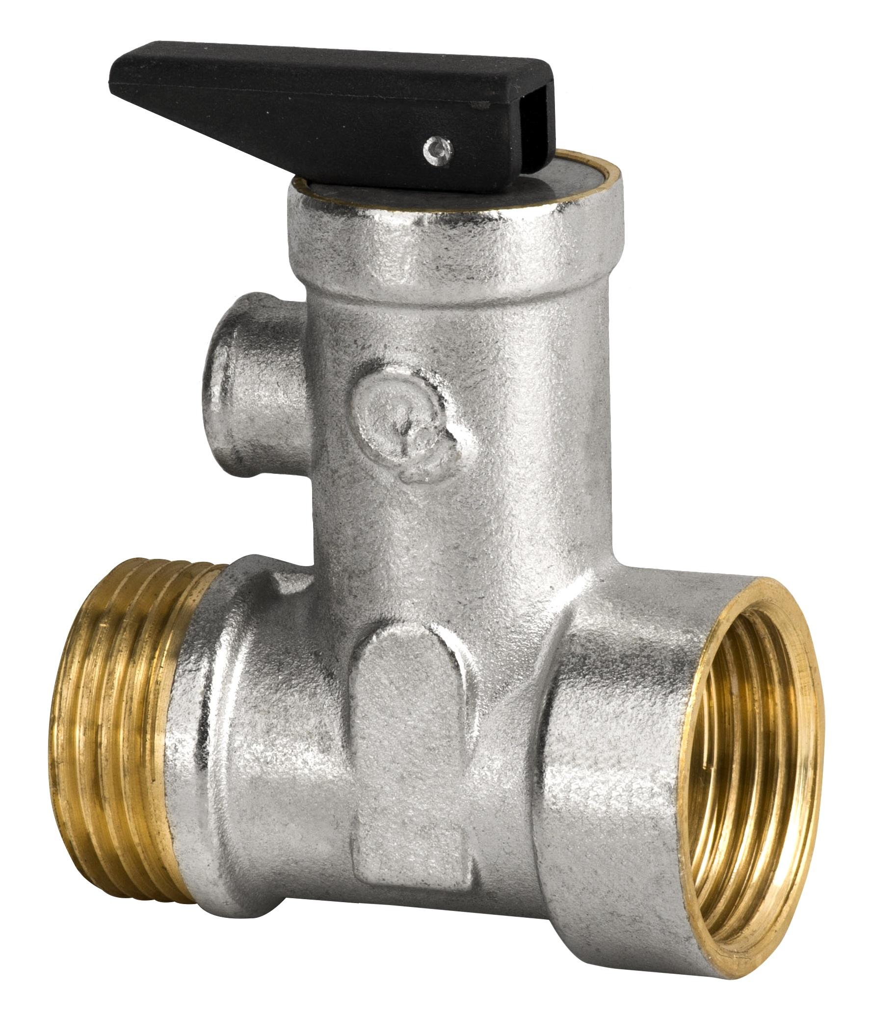 Bezpečnostný kontrolný ventil pre 3/4 kotol