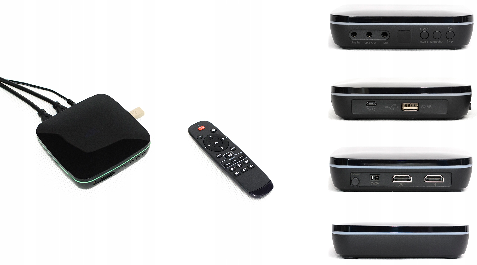 VELOCAP X-Pro - nowa nagrywarka 4K + grabber 2w1 Waga produktu z opakowaniem jednostkowym 1 kg
