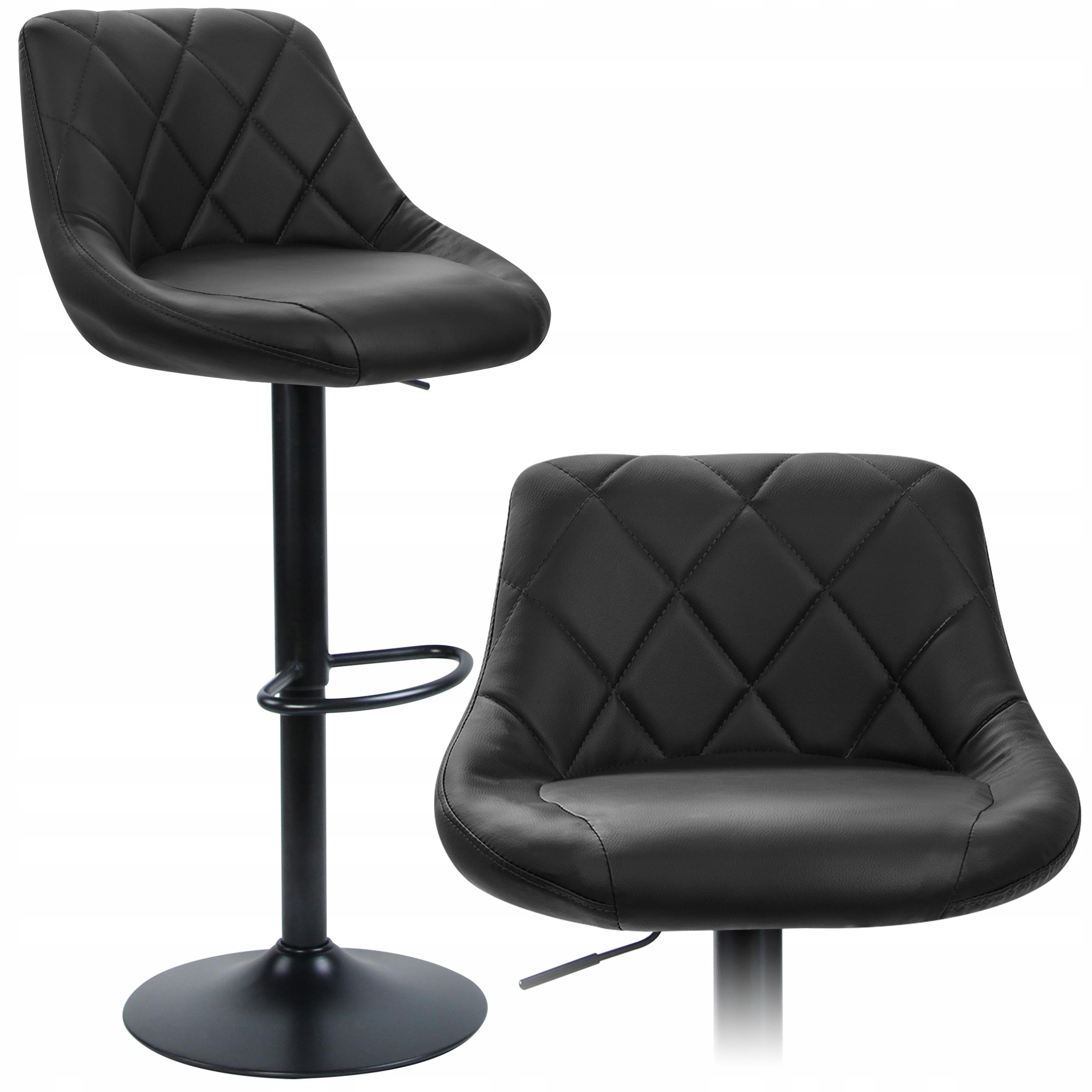 HOKER Барный стул STOOL Adjustable Black LOFT