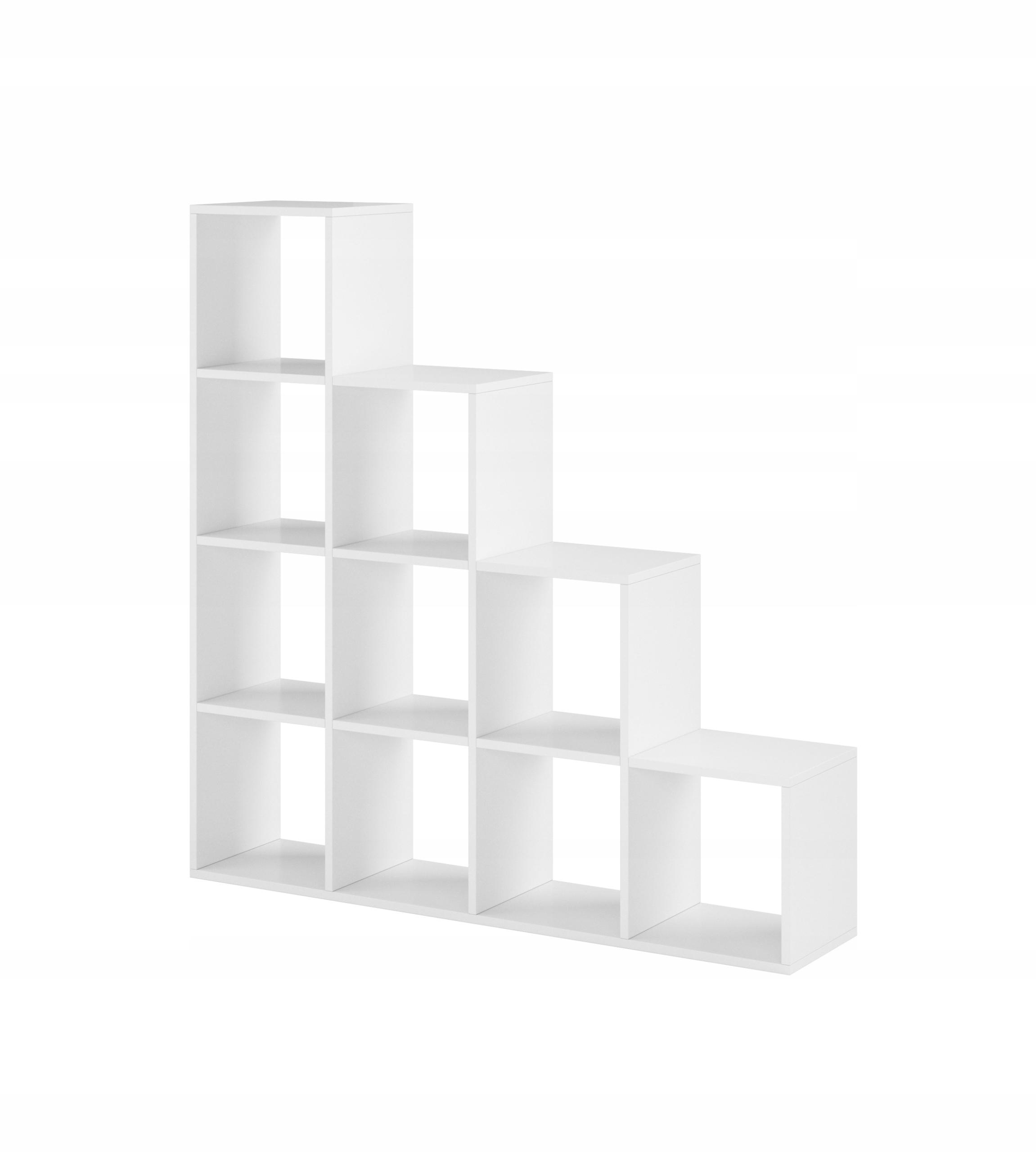 Лестница белая, шкаф, полка 138см