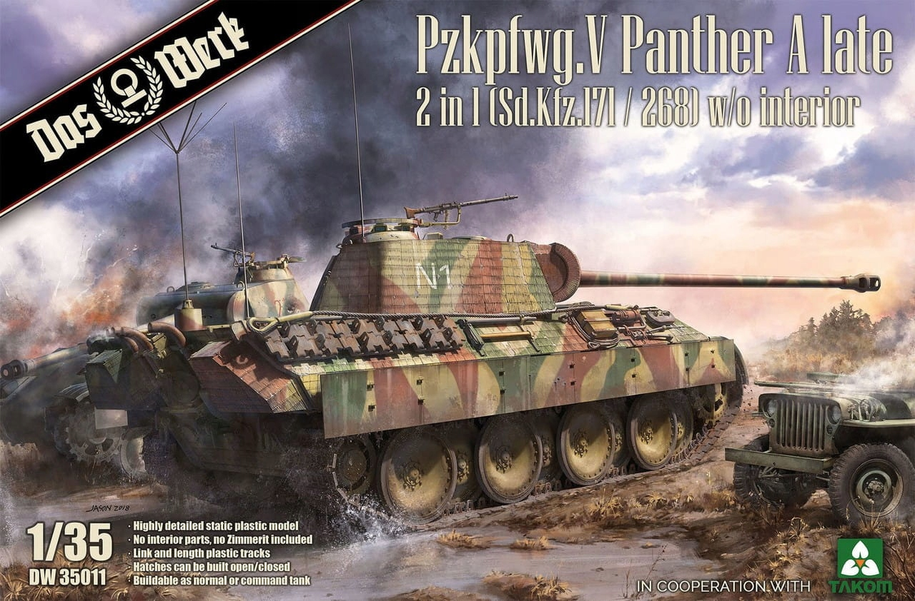 Das Werk 35011 Panther Ausf.A Early/Mid 1:35