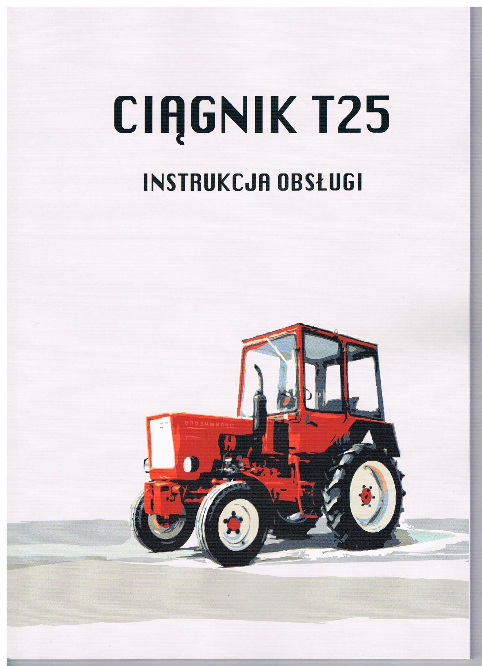 Instrukcja obsługi budowa Władimirec T25 T 25