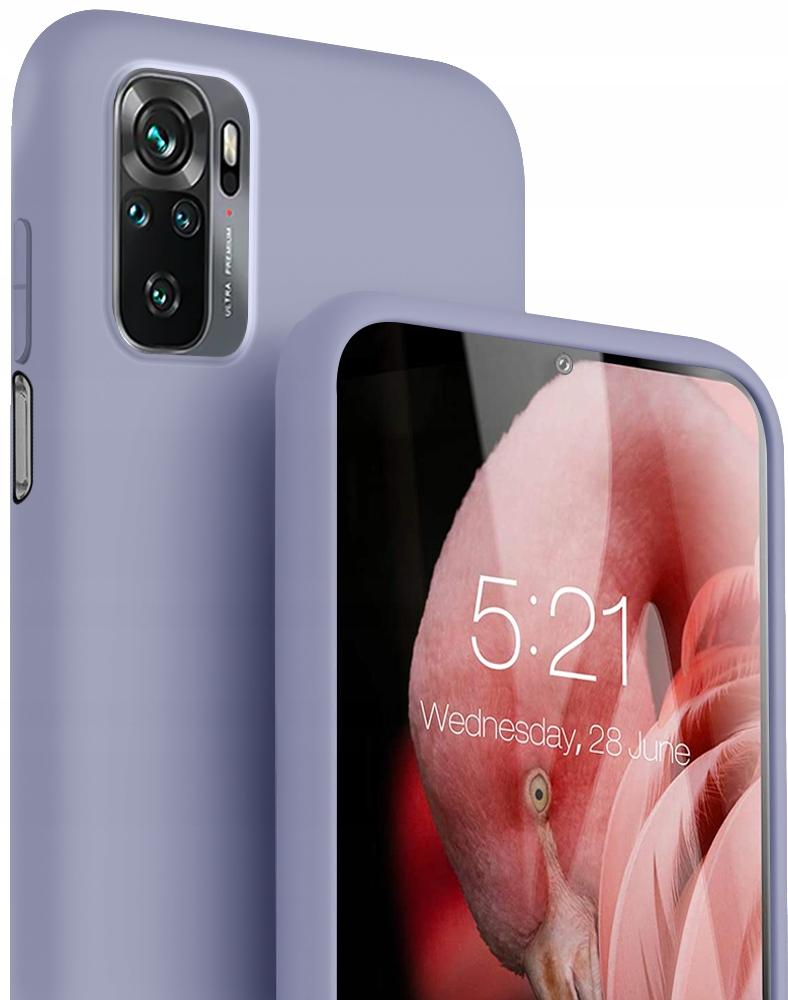 Etui Case Silicone + Szkło do Xiaomi Redmi Note 10