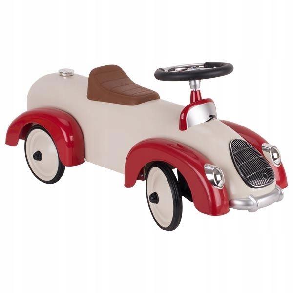 Goki Ride Red Racer Retro Pusher