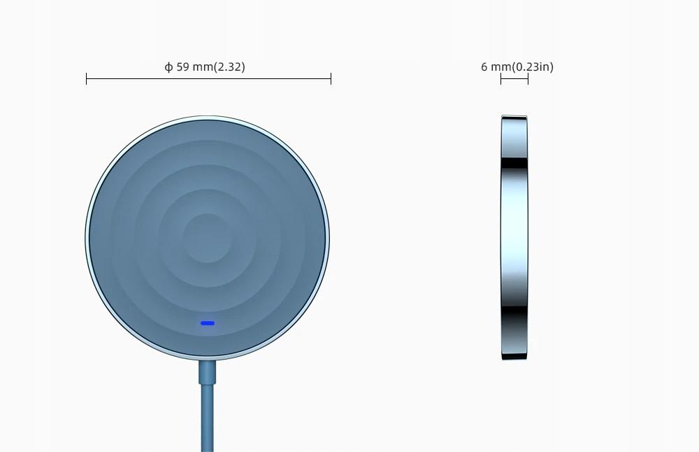 Ładowarka bezprzewodowa 15W iPhone 12 PRO MAGSAFE Marka Essager