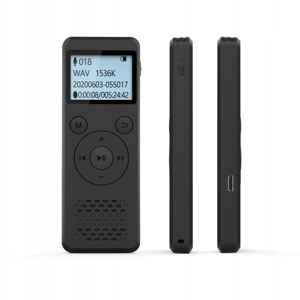 Szpiegowski Dyktafon cyfrowy1536Kbps 8GB detekcja Marka inna