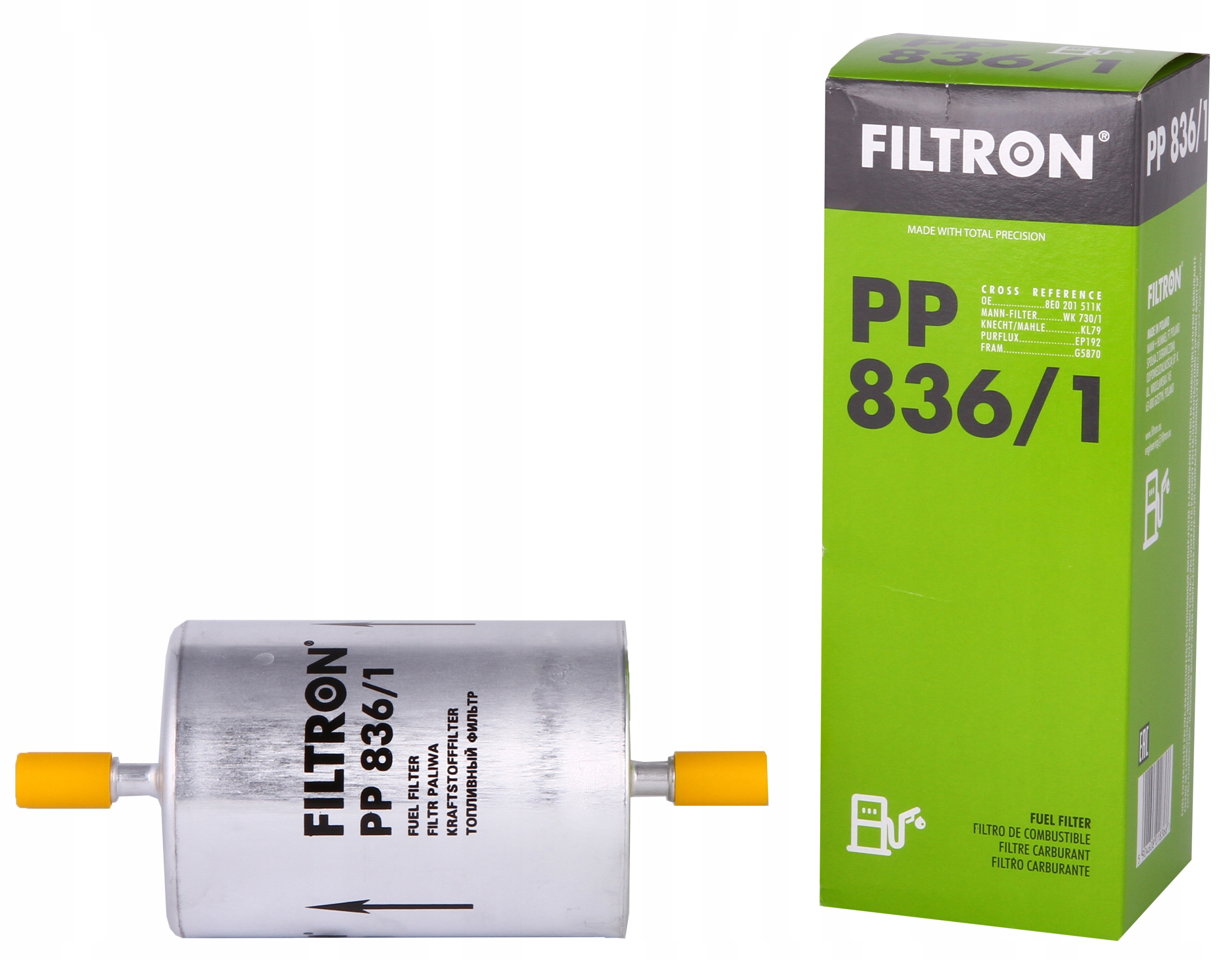 фильтр топлива filtron пп 8361