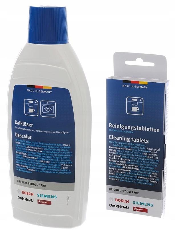 Bosch Siemens Desacei чистых и чистящих таблеток