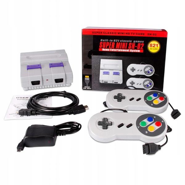 821 hier Jeux rétro Classique Mini Console SNES
