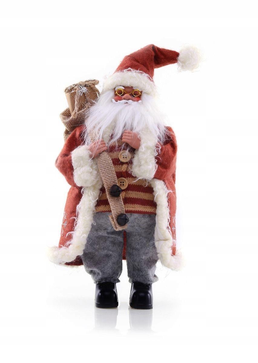 Mikołaj święta prezent skrzat figurka dekoracja