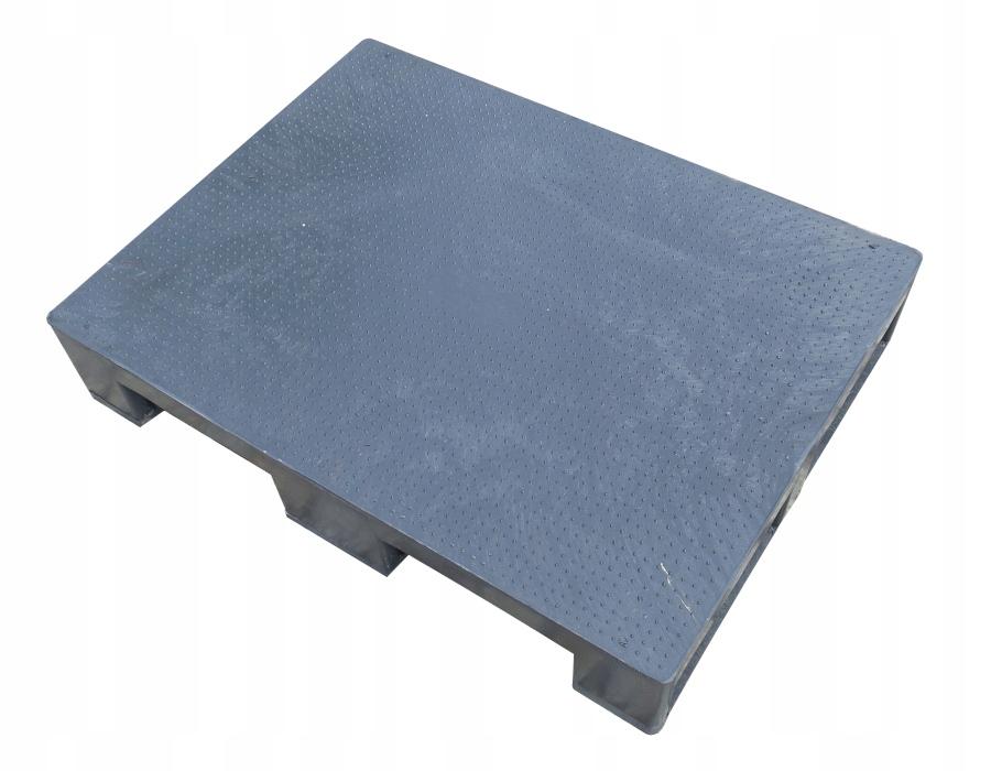 Paleta plastikowa półpaleta nowa 800x600 1/2 EURO