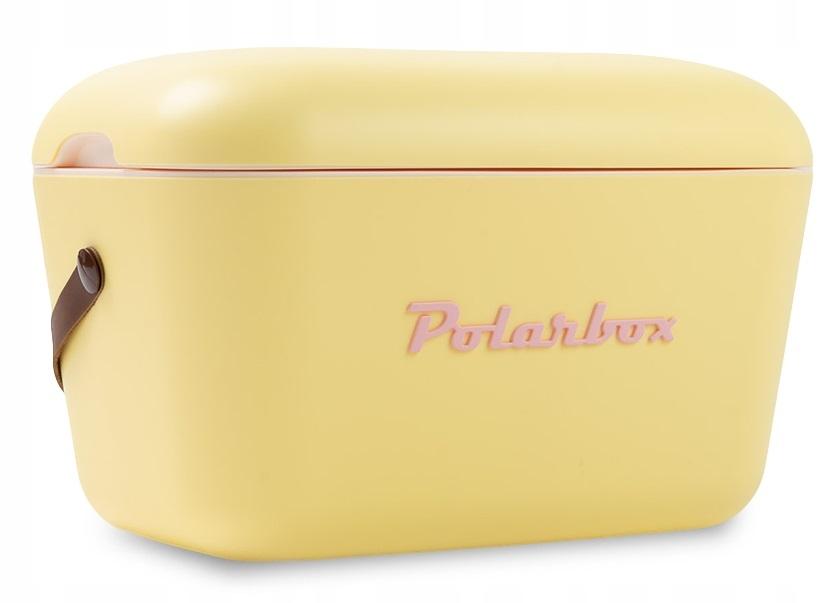 Retro vintage žltá chladnička POLARBOX