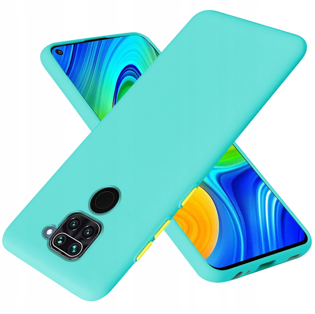Etui do Xiaomi Redmi Note 9 Case Silikon + Szkło