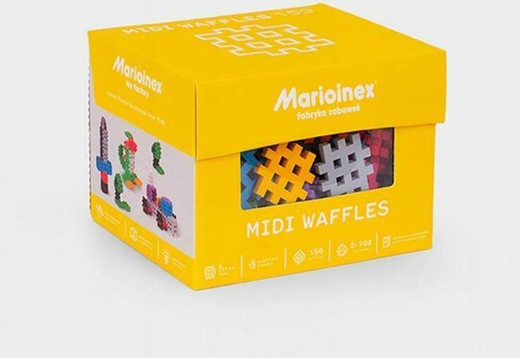 Midi Waffle 150 kusov