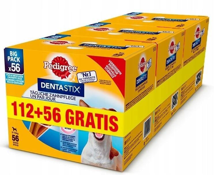 RODOKMEŇ DentaStix malých plemien 24x110g 112+56 ZADARMO