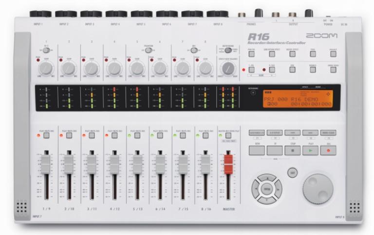 Zoom R16 Rekordér Audio Rozhranie Radič