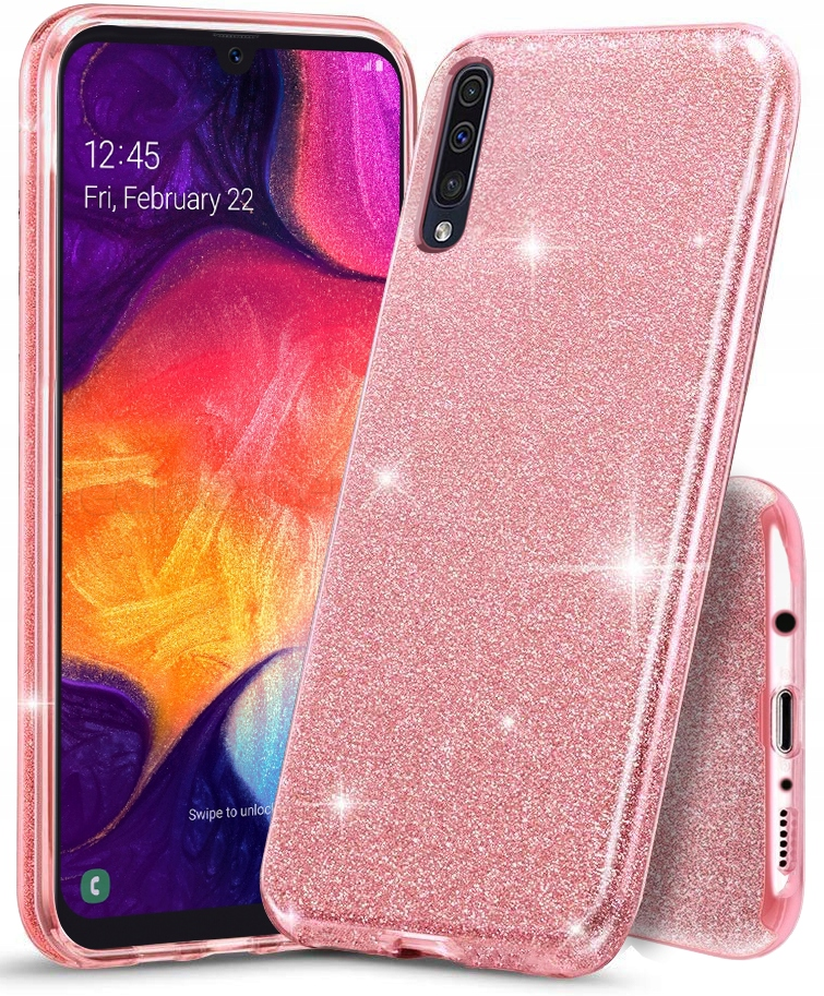 Etui CASE BROKAT + SZKŁO 9H do Samsung Galaxy A50