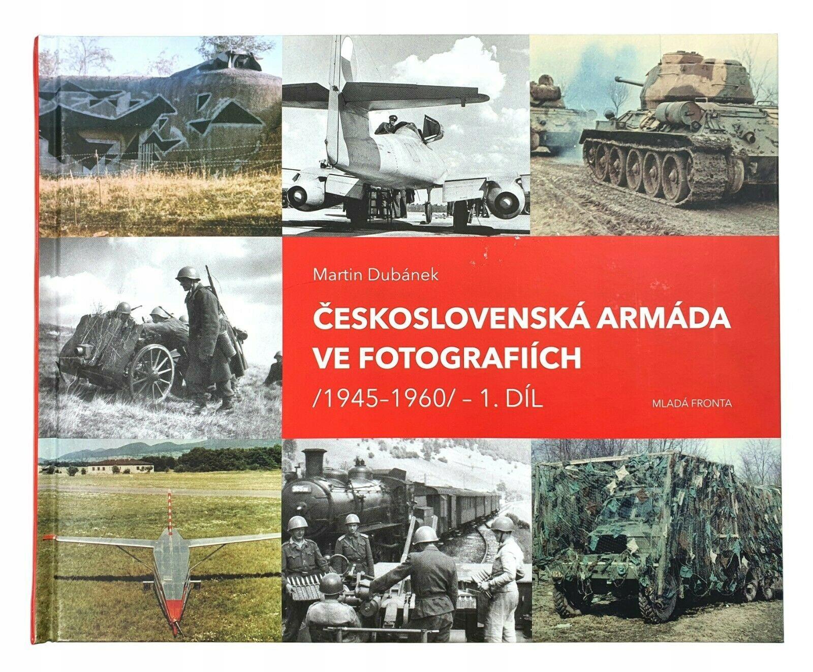 Чехословацкая армия в фотографиях 1945-1960 г.г.